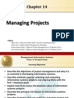 Laudon_MIS13_ch14 Managing Projects