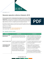 Reforma Tributaria Colombia - Noviembre 2018