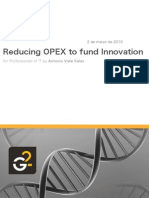 Reducing OPEX to fund innovation