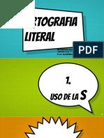 Ortografía Literal
