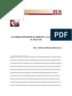 4 - La Correlación Entre El Derecho y La Economía en El Siglo Xxi