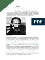 Biografia Horacio Quiroga