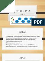 HPLC - PDA