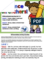 Differentiation Writing