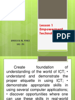 Lesson 1 Empowerment Technology