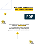 Portafolio de servicios de Marketing Digital