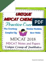 Unique—MDCAT—Chemistry