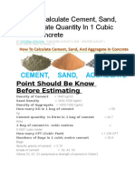 How To Calculate Cement.doc