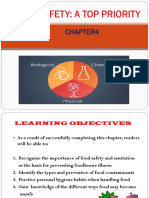 Chapter 4 Food Safety A Top  Priority  on risk.ppt