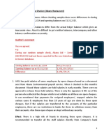 Report on financial reporting of   Abans RSL to the Management.docx