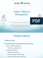 History+Taking+in+Orthopedics