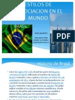 Estilos de Negociación en El Mundo Brasil
