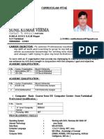 Its a GooD CV lookng for job