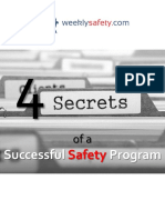 Four Secrets of a Successful Safety Program