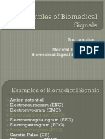 Sources of Biomedical Signals