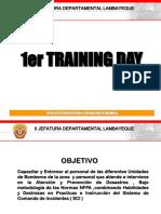 1er Training Day