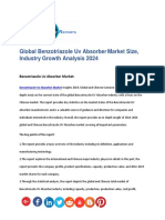 Global Benzotriazole Uv Absorber Market Size, Industry Growth Analysis 2024