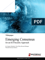 Emerging Consensus on ICS Cyber Security Whitepaper