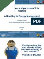 UNIDO EnMS Half Day Awareness Training