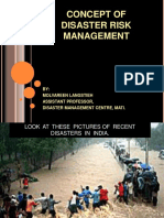 concept to disaster risk management