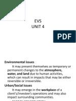 EVS UNIT 4