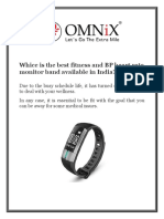 OMNiX™ G20 Heart Rate Blood Pressure Monitor