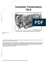 Mercedes Benz Automatic Transmission 722.9 Technical Training Materials