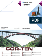 Corten Steel (Nippon Steel Catogue)