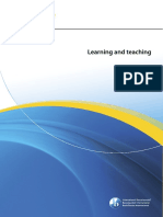 Learning and Teaching - FPiP