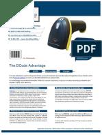 barcode scanner, wireless barcode scanner, DC5112_1D WIRELESS