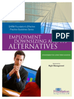 Employment Downsizing and Its Alternatives - All