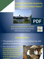 Libby Flood Burton How Can We Improve Maritime Academy School Ship Training