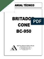 Manual Tecnico Cone Bc-950