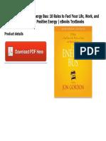 Energy bus ebook