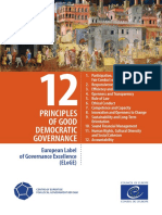 12 Principless on Good Democratic Governence