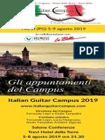 Concerti Italian Guitar Campus 2019