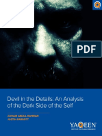 FINAL Devil in the Details an Analysis of the Dark Side of the Self
