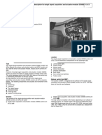 Component Description for Single Signal Acquisition and Actuation Module (SSAM) Control Unit