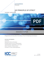 8.Notes on the Principle of Strict Compliance