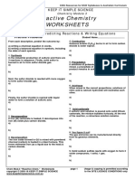 Chem Module 3 Worksheets
