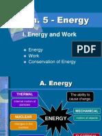Ch. 5 ENERGY