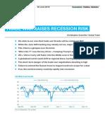 Trade War Raises Recession Risk (June 2019)