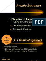 Ch. 10 Atomic Structure