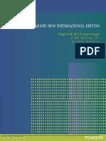 Applied Hydrogeology Pearson New International Edi... ---- (Cover )