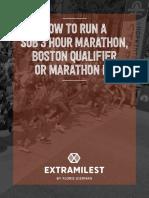 Sub 3 Hour Marathon - EXTRAMILEST.pdf