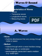 Ch. 18 Waves & Sounds