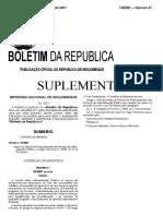 Decreto 30-2001 - Normas de Funcionamento Dos Servicos Da Administracao Publica