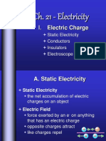 Ch. 21 Electricity