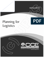 Planning for Logistics