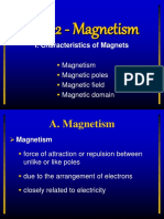 Ch. 22 Magnetism